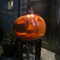 ジャンボかぼちゃのランタン☆
