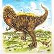 夏空とティラノサウルス
