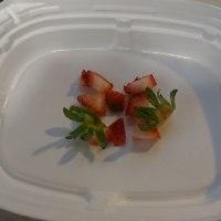 苺のお味はいかが?