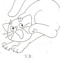 ベーカー家の猫さん何に驚いたの???