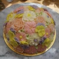 フラワードームケーキ(Rさん作品)
