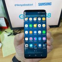 特大モニター サムサン最新旗艦Galaxy S8 3月29日発表する