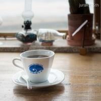 日本海、冬のカフェにて