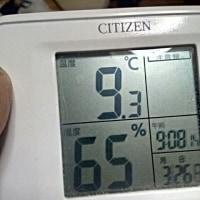03/26 室温9.3℃
