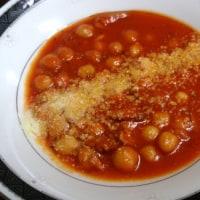 タコス・秋鮭ソテー・トマトスープ