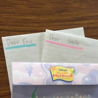 生徒さんからの英語の手紙