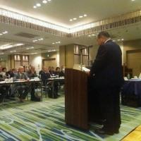 長野県退職者連合の総会に出席。