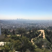Griffith observatory and Mt. Wilson observatory
