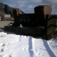 雪のオロフレ峠