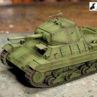 イタリア重戦車P40 5