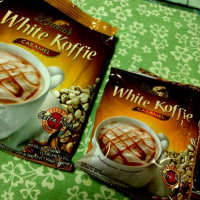 New version of White Koffie in Indonesia