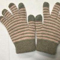 手袋をしててもスマホの操作には影響しない導電繊維