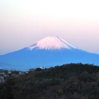 今朝の紅富士 2016.12.10.(土)