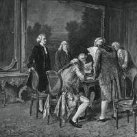 米国の独立戦争が終わった。