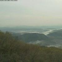 霧はほんのわずか、晴れ
