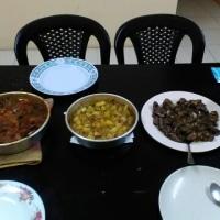 本日夕飯は初パレスチナ料理
