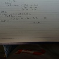 転置行列の積について