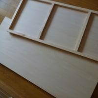 木製パネルを作りました