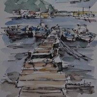 志摩の桟橋