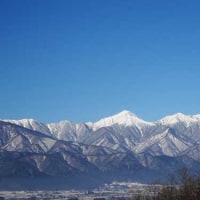 山がきれい!