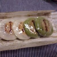 上賀茂の焼きもち頂きました。
