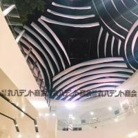 商業施設 天井膜