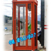 公衆電話は、病院に行くと有ります。