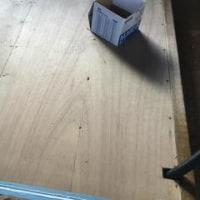 床版製作その3(床下断熱&下地合板張)