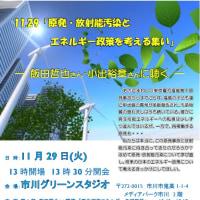 原発・放射能汚染とエネルギー政策を考える集い