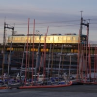 170119 氷点下の中島漁港&西鉄電車撮る。さらに如意輪寺(カエル寺)火渡りへ!