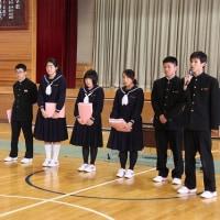 生徒総会・引き継ぎ式