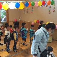 幼稚園のバザー