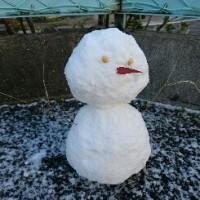 雪だるまさんがあちこちにいました。