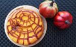 アガベでパンプキンチーズケーキ/ハロウィン編