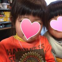 6歳の糸かけ曼荼羅