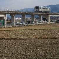 田の仕事はそろそろ?井原鉄道