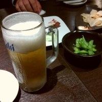 食って飲んで。。。