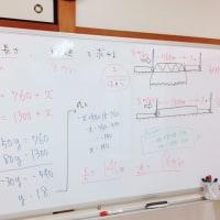 連立方程式の利用。テスト1か月前だ…。