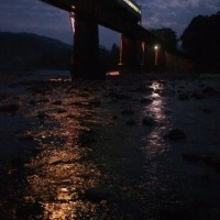 懲りずに鉄橋へ