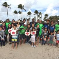 ビーチサッカー国際トレーニングマッチ アメリカ戦