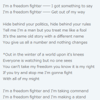 Freedom Fighter - Rainbow