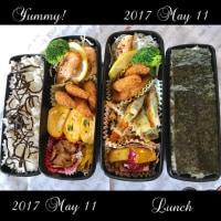 5月11日(木)12日(金)のお弁当
