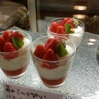 苺からメロンへ  新作ケーキ