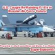 米軍基地でロシア機に塗装した軍機発見!