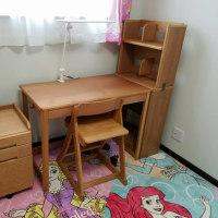 孫ちゃんの机が届きました~