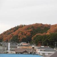 山々も紅葉・・・いわき