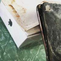 iPhone7も燃える