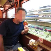 夏の旅行から~富山で鉄道模型?「喫茶ブルートレイン」