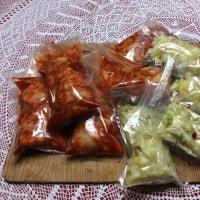 キムチ&白菜漬保存