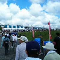 灼熱の太陽と熱い射撃!富士総合火力演習